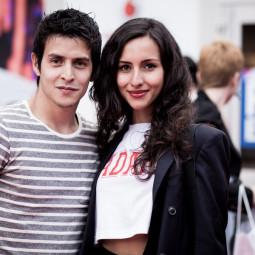 Me and Farah of Formulafarah.blogspot.nl