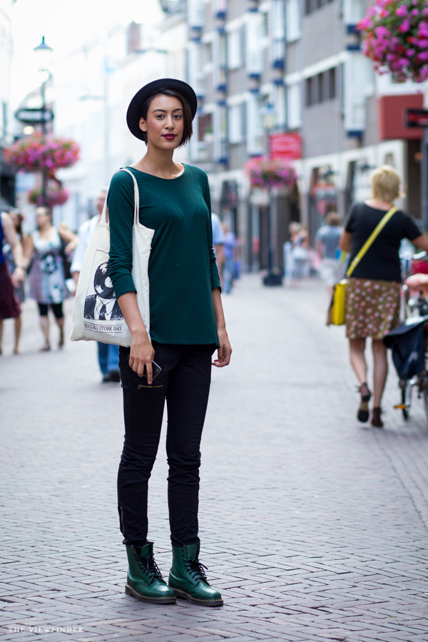 street style black & green arnhem | ©The Viewfinder