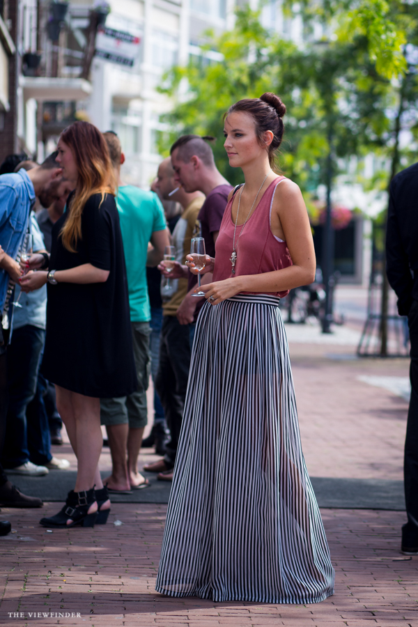 striped maxi skirt | ©THE VIEWFINDER