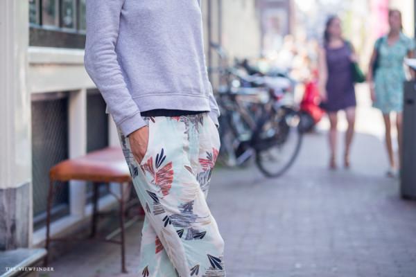 floral print pants amsterdam 3 | ©THE VIEWFINDER