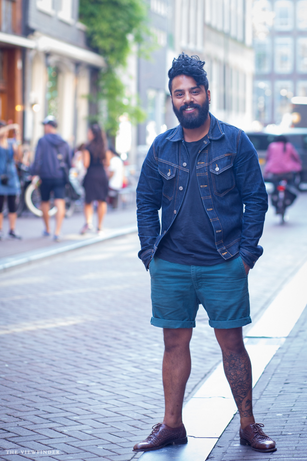 denim & shorts street style amsterdam | ©THE VIEWFINDER