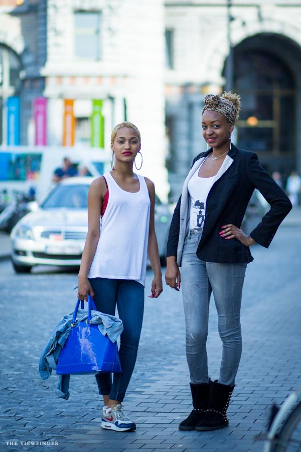 fashionista in Antwerp street style | ©THE VIEWFINDER