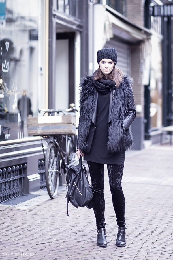 black layers street style fabuliciousgirl | ©THE VIEWFINDER