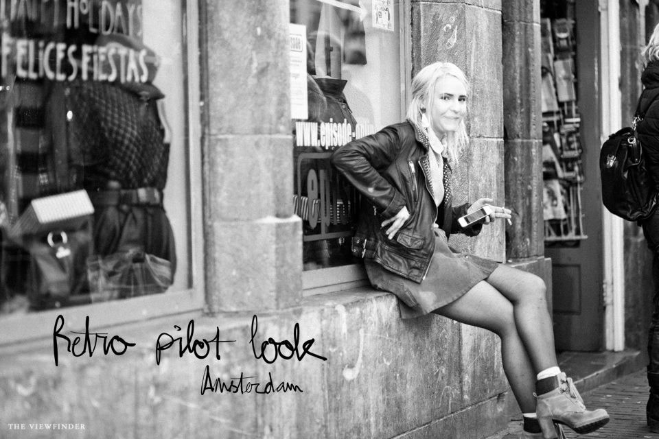 retro pilot look street style amsterdam 2 | ©THE VIEWFINDER