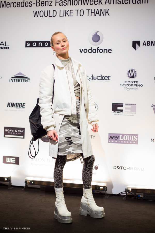 white layers army print street style mbfw amsterdam   ©THE VIEWFINDER