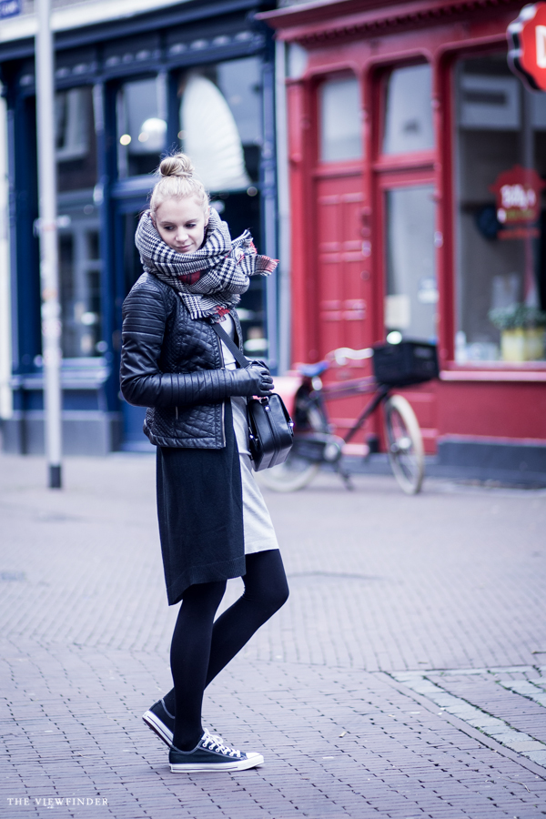 grey & black fabuliciousgirl street style | ©THE VIEWFINDER