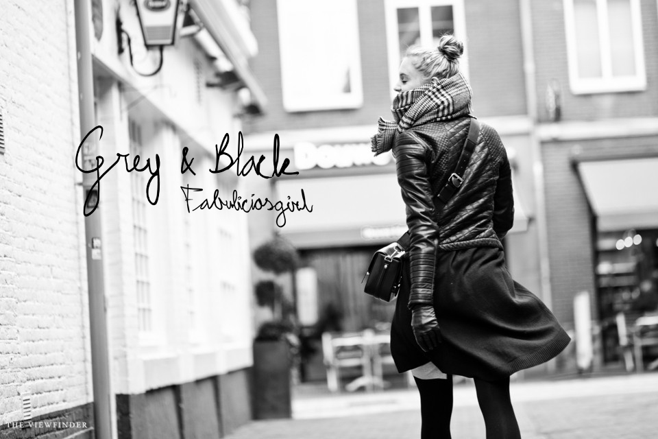 grey & black fabuliciousgirl street style 2 | ©THE VIEWFINDER