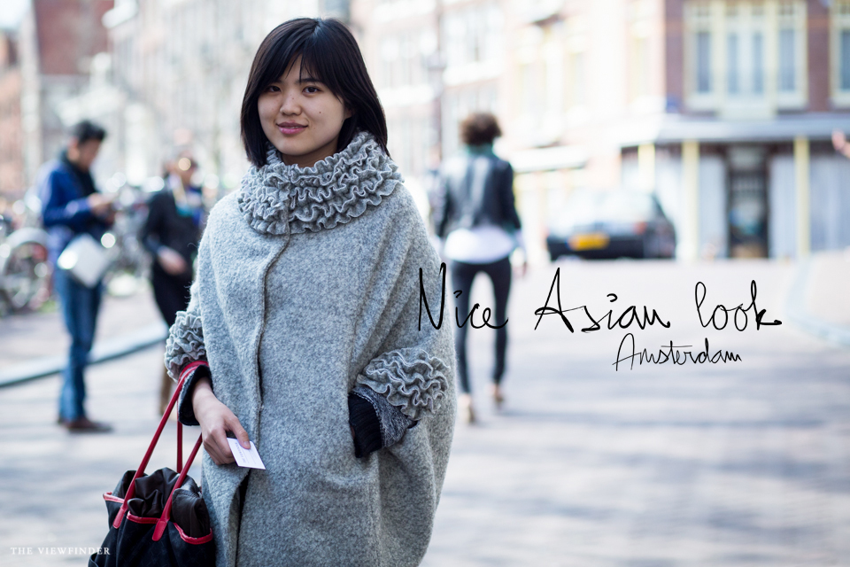 asian look collar coat street style women fashion amsterdam | ©THE VIEWFINDER-6865 title