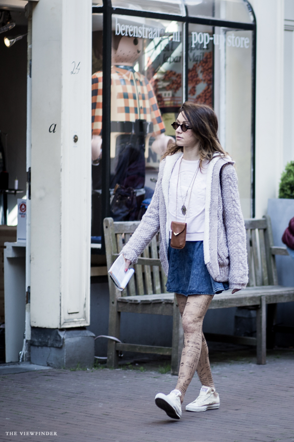 tattooed legs women street style fashion amsterdam | ©THE VIEWFINDER-7066
