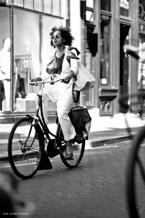 biker cyclist fashionista street style amsterdam | ©THE VIEWFINDER-0877