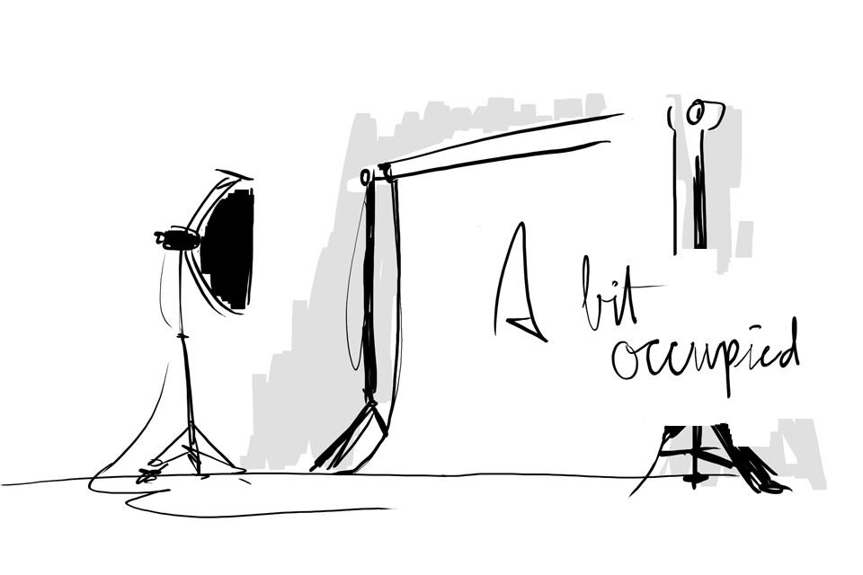 bit occupied illustration by Kevin van Diest | THE VIEWFINDER