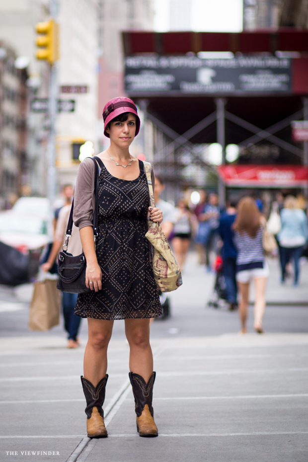 retro fashionista new york street style | ©THE VIEWFINDER-6786