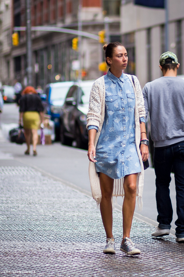bottoned up denim print new york | ©THE VIEWFINDER-6848