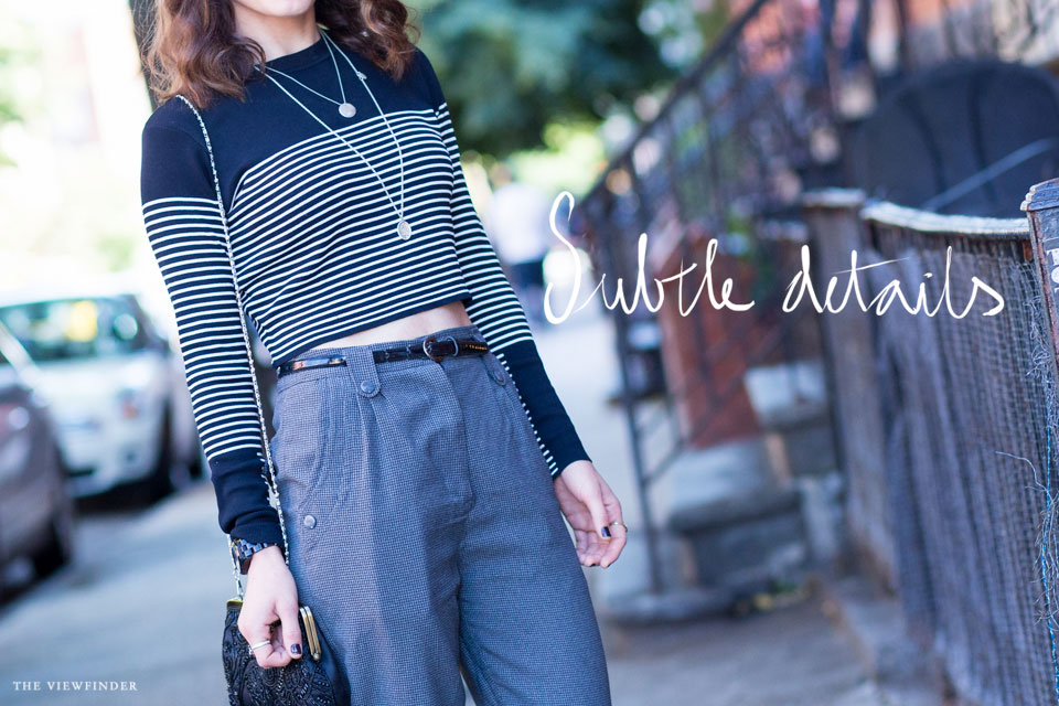 crop top chic street style new york | THE-VIEWFINDER-9162-title