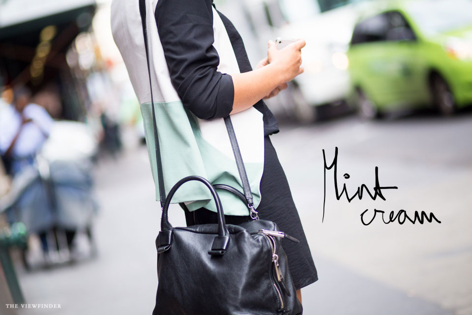 mint cream street style new york | ©THE-VIEWFINDER-7428-title