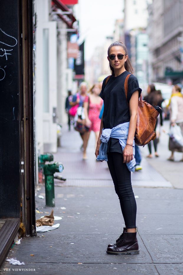 ponytail street style new york THE VIEWFINDER-7488