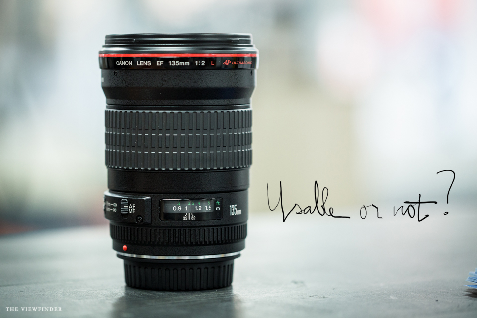 canon 135mm lens review THE VIEWFINDER