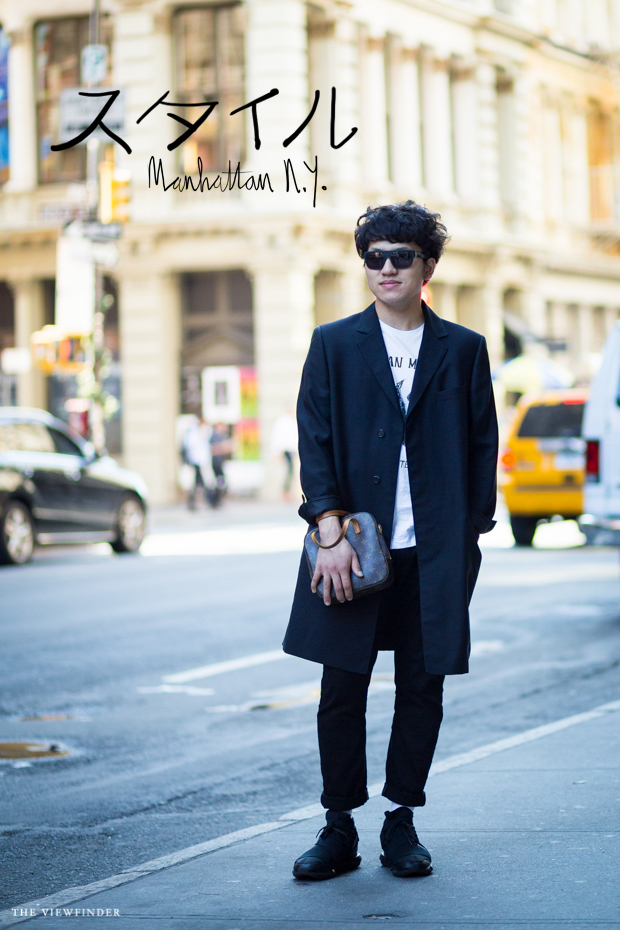 Japanese menswear NY THE VIEWFINDER
