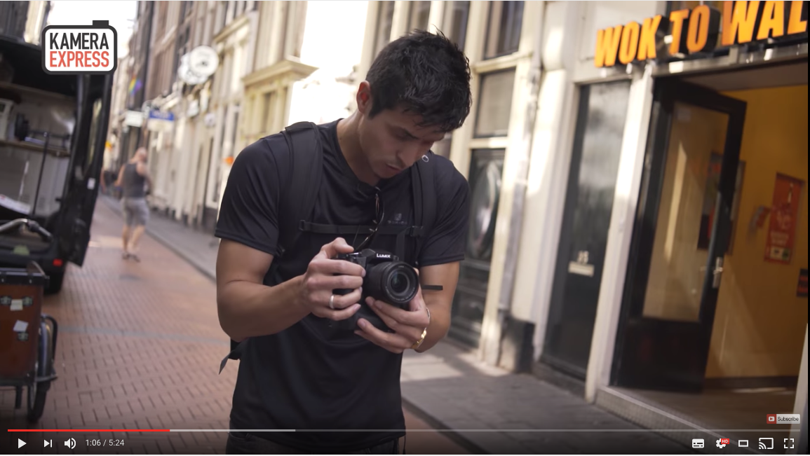 Lumix G80/G85 review the viewfinder