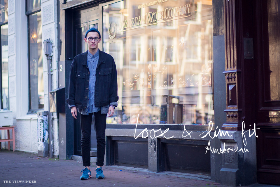 loose & slim fit street style male amsterdam 2 | ©THE VIEWFINDER