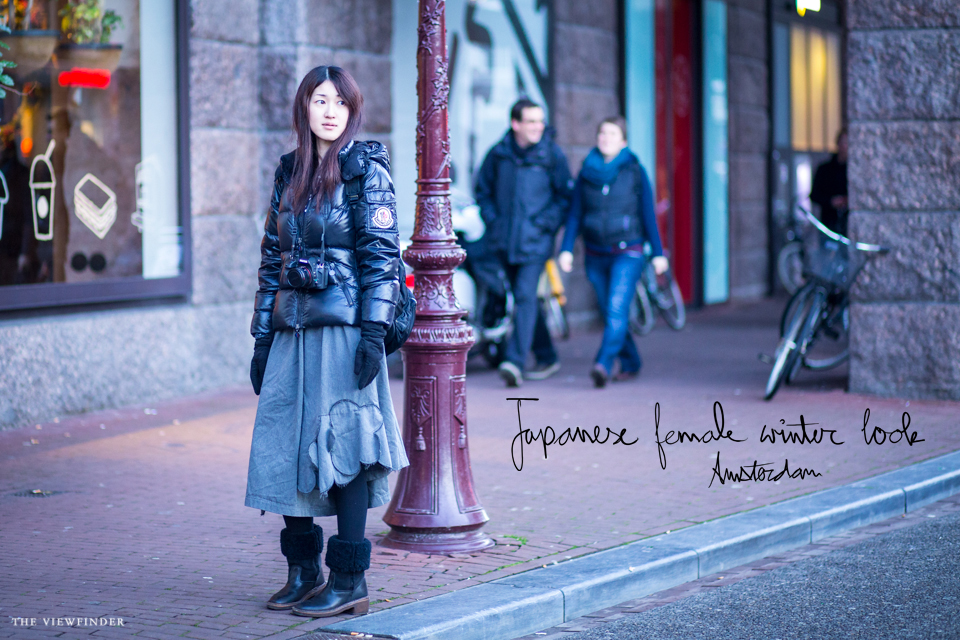 japanese female winter look street style amsterdam | ©THE VIEWFINDER