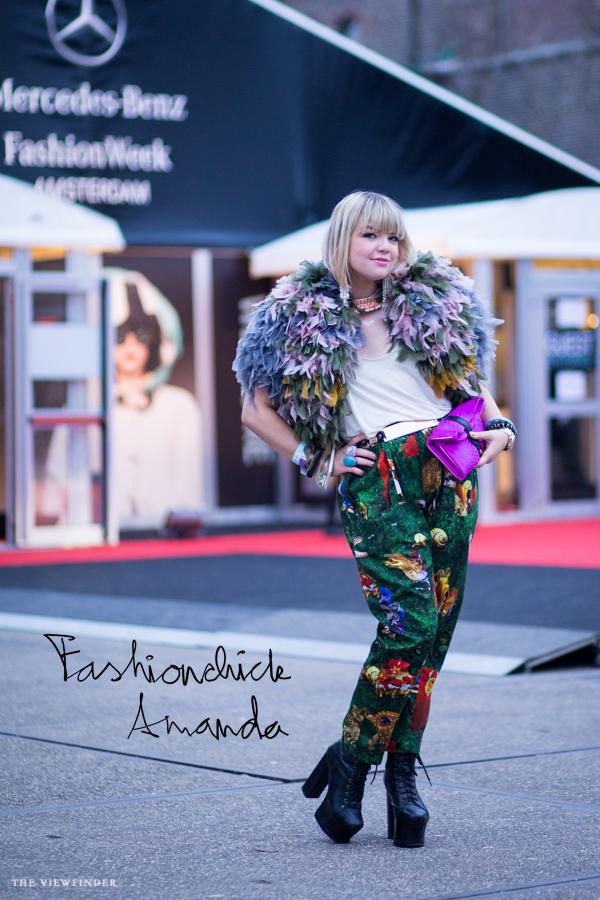 AWF Street style Fashionchick Amanda | ©THE VIEWFINDER