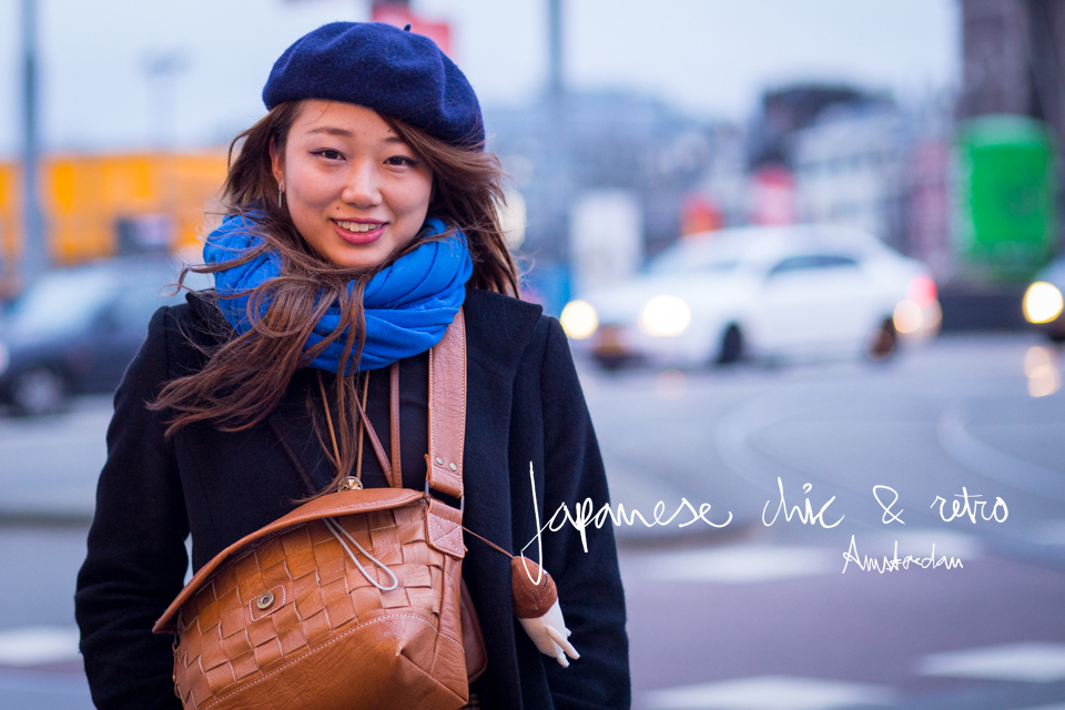 japanese chic & retro street style amsterdam banner | ©THE VIEWFINDER