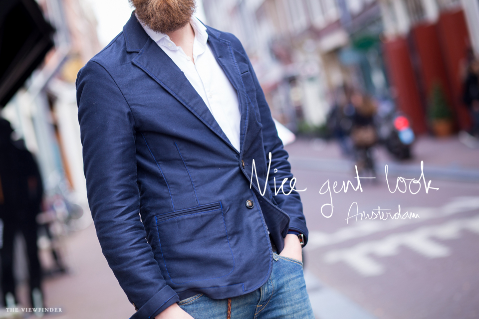 nice gent look beard street style menswear fashion amsterdam | ©THE VIEWFINDER-7626 title