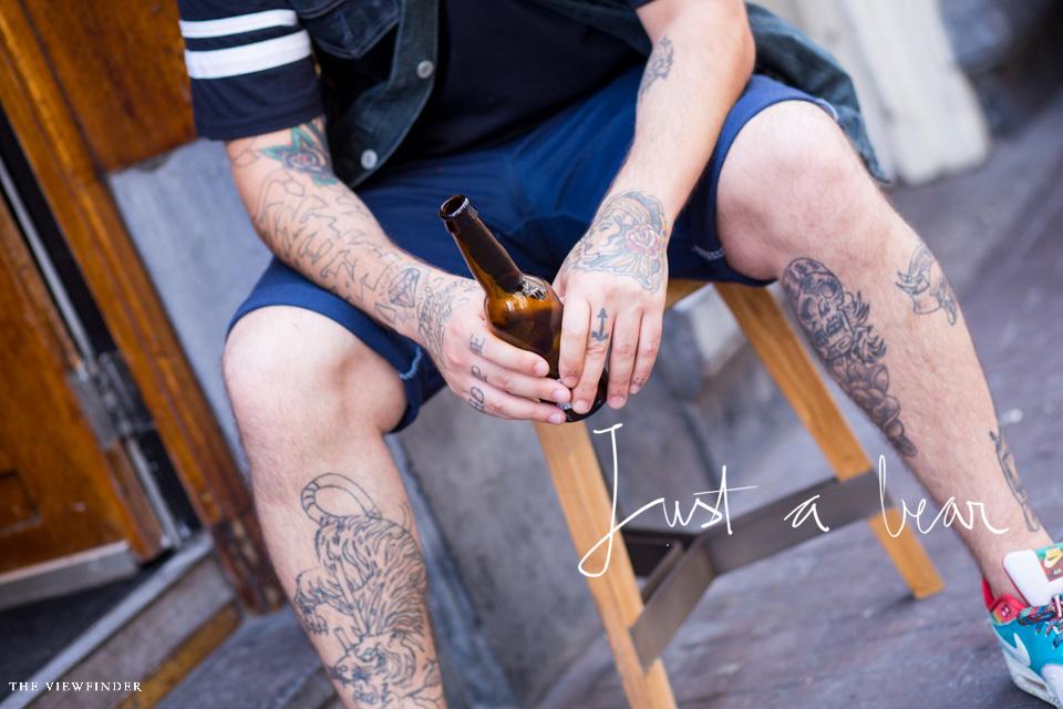 bear tattoo men street style menswear | THE VIEWFINDER-3025 title