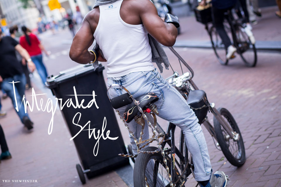 menswear street style amsterdam bicycle denim | THE-VIEWFINDER-0257-title