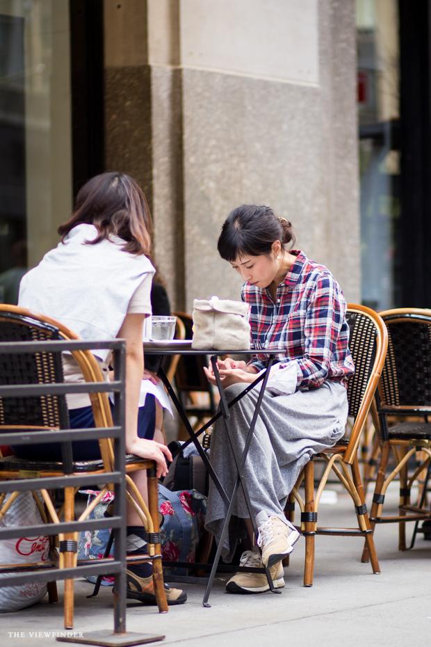 checkered shirt dress new york women THE VIEWFINDER-7219