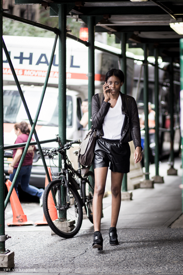 black white street style new york women | THE VIEWFINDER-7446