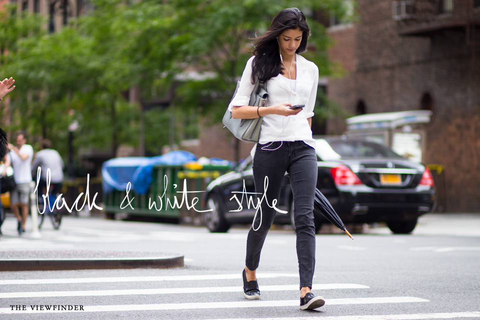 Black white street style mew york THE-VIEWFINDER-7345