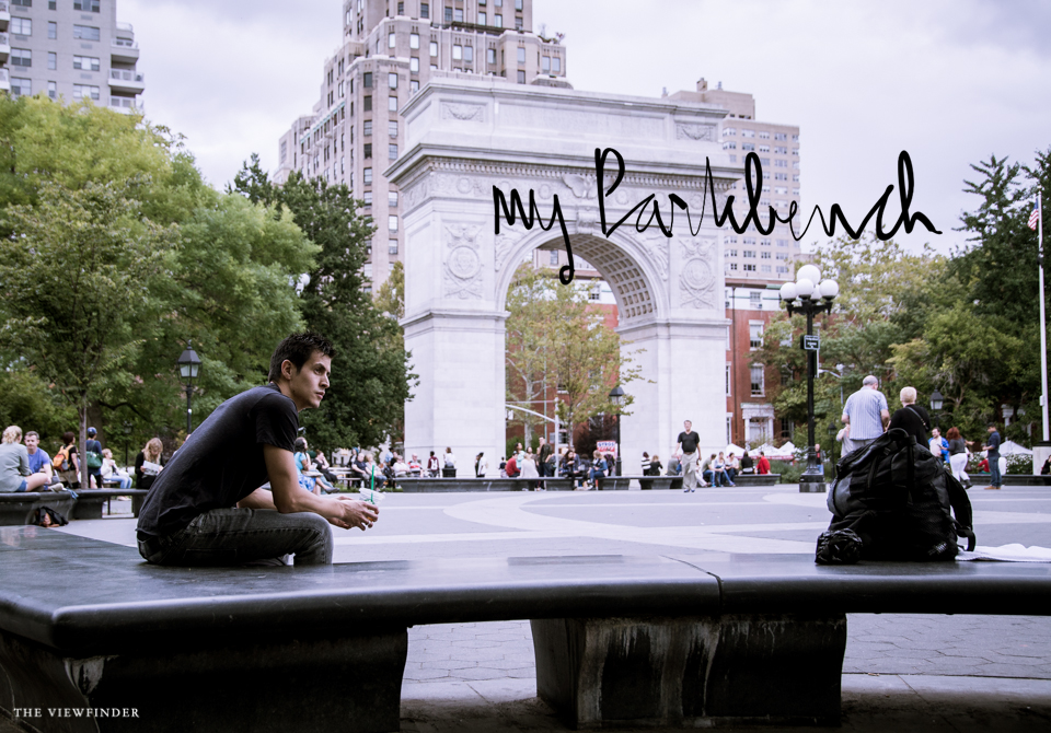 park bench new york THE-VIEWFINDER-8708