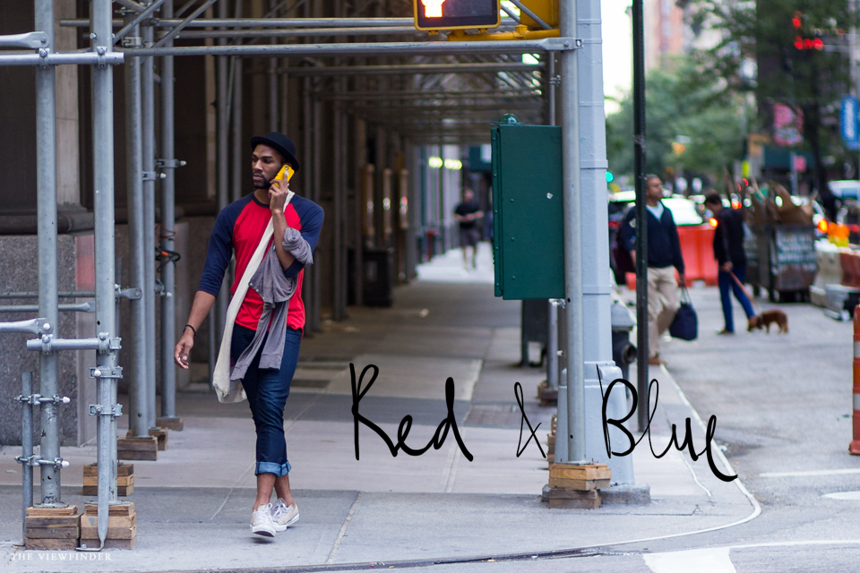 red blue menswear new york THE-VIEWFINDER