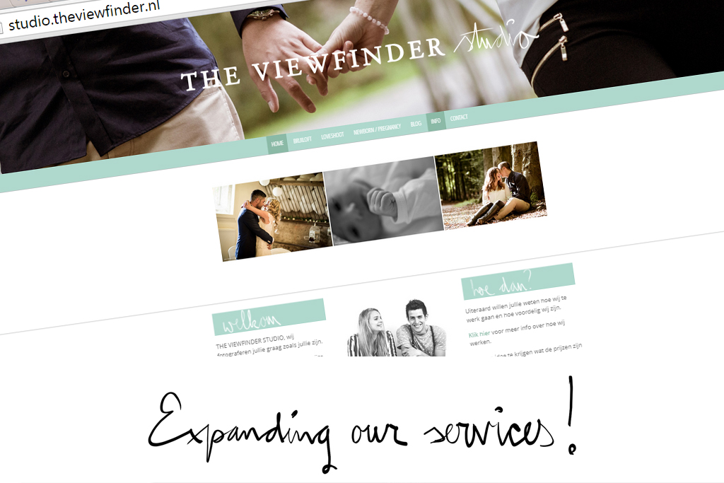 expanding services THE VIEWFINDER STUDIO