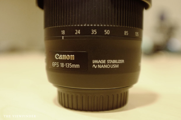 Canon EFS 18-135mm Nano USM